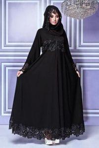 عباية فستان